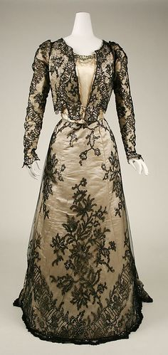 Another vintage Evening Dress from 1898-1899