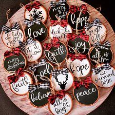 Christmas Wood Crafts, Diy Christmas Ornaments, Homemade Christmas, Rustic Christmas, Christmas Projects, Holiday Crafts, Christmas Holidays, Christmas Decorations, Kids Ornament