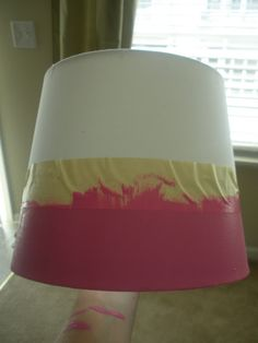 Sew Totally Smitten: Lamp Shade Painting