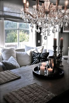 homes, décor, gardens, nature, all things beautiful serene and cozy . Living Room Kitchen, Home Living Room, Living Room Decor, Dining Rooms, Kitchen Decor, Living Room Styles, Decor Room, Home Decor, Dark Interiors