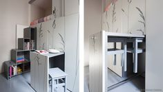 Amazing what you can actually put in an 8 m2 living space! Living in a shoebox   The au pair's tiny (86 ft2) apartment