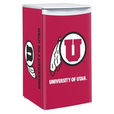 Utah Utes 3.2 Cubic Feet Mini-Fridge