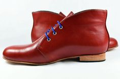 Men's and Women's – Handmade Leather Shoes – Oxide Ankle Boot 03