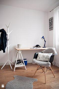 Gabinet - Styl Skandynawski - STUDIOLOKO Interior Architecture, Interior Design, Home Office, Living Room, Studio, Interiors, Home Decor, Architecture Interior Design, Nest Design