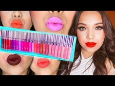 NEW ColourPop Ultra Matte Lip SWATCHES + REVIEW! - YouTube