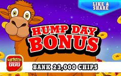 ☆☆☆ Hump Day Bonus ☆☆☆ Free Chips Are Waiting > https://apps.facebook.com/slotbuster?utm_source=fanpage&utm_medium=HumpDayBonus&utm_campaign=11092016&bonusPackId=20061 < Win Win Win #slotgames