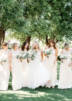 Catherine & Cooper: White and Green Gaillardia Okc Wedding Aubrey Marie Photography