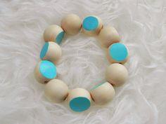 Wooden Color Cut Bracelet