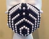 BASSNECTAR Kandi Mask custom colors and glow by PlurfectKreations