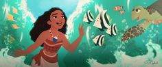 Disney's Moana by MarioOscarGabriele on DeviantArt