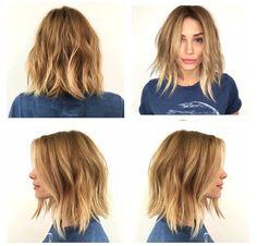 Too short? Too short? Bad Hair, Hair Day, Cut Her Hair, Hair Cuts, Medium Hair Styles, Short Hair Styles, Undone Look, Barbara Mori, Tousled Hair