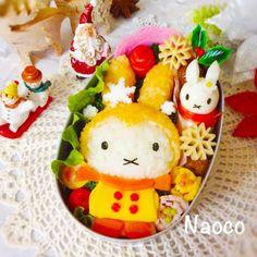 ゆきのひのうさこちゃん♬冬弁シリーズ の画像|Naocoのキャラ弁日記