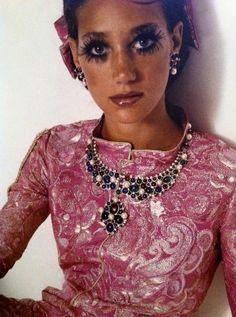 Marisa Berenson in Chanel- Vogue 1969 Photo by Gianni Penati
