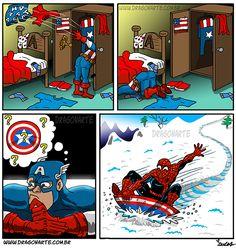Deadpool shouldn't get to have ALL the fun.   Dragonarte.com.br