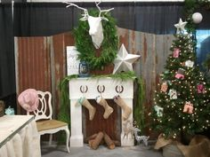 1000 images about rustic craft booth ideas on pinterest for Country christmas craft show