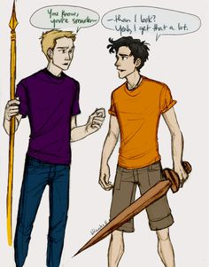 this should be pinned. has this been pinned? i want jason and percy times please.