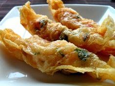 dim-sum prawn rolls...yumm!