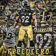 #FreeDeebo #JamesHarrison #PittsburghSteelers #Pittsburgh #Steelers #SteelersNation #Steelers4Life#BlackandGold #NFLFootball #Football #SteelersFootball #SteelCity #SteelCurtain #SteelersCountry #SixBurgh #6Burgh #BlitzBurgh #MenOfSteel #SteelersFans #HereWeGo #StairWayTo7 #StairWayToSeven #SN33edits @jhharrison92