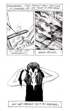 """A chronic state"" | Jenny Yu | http://charleskinbote.tumblr.com"
