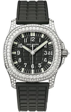 Patek Philippe [NEW] Aquanaut Ladies White Gold 5069G (Retail:HK$698,600) ~ JUNE BEST BUY: HK$380,000.