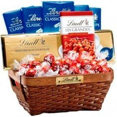Enter to win a Lindt Chocolate Prize box!