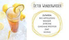 Detox wasser zutaten