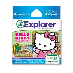 Amazon.com: LeapFrog Explorer Sanrio Hello Kitty Sweet Little Shops Learning Game: Toys & Games
