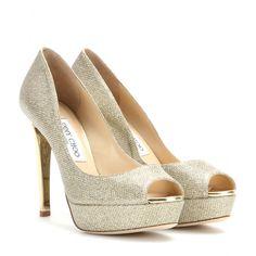 mytheresa.com - Dahlia glitter pumps - High-heel - Pumps - Shoes - Jimmy Choo - Luxury Fashion for Women / Designer clothing, shoes, bags