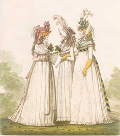 1790 fashion   Frolic through Time: Mid-1790s Hair Tutorial and Hat Precis