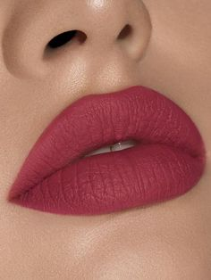 The Kylie Cosmetics Liquid Lipstick Lip Kit is your secret weapon to create the perfect 'Kylie Lip.' Each Lip Kit comes with a Matte Liquid Lipstick and matching Lip Liner. Extraordinary is a matte dirty raspberry. Tint Lipstick, Lipstick Shades, Lipstick Colors, Liquid Lipstick, Mac Lipsticks, Lipstick Swatches, Color Type, Lip Colour, Gloss Matte