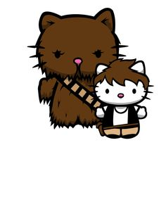 han and chewie kittys by yayzus.deviantart.com