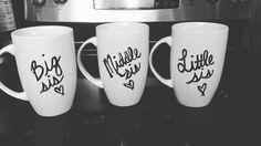 Sister mugs!