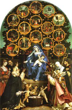 7 octobre - fête du Très-Saint Rosaire de la Vierge Marie