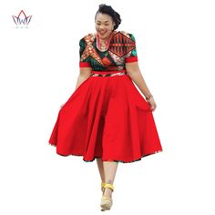 Plus Size Clothing 2017 spring Dress African Print Dress Dashiki For Women Bazin Riche Vestidos Femme Dress Plus Size BRW Source by African Dresses Plus Size, African Dresses For Women, African Attire, African Wear, African Suits, African Print Dress Designs, African Print Dresses, African Print Fashion, Africa Fashion