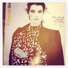 Whistles jacket features on the cover of Telegraph Fashion: The Art of Simple Dressing
