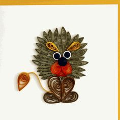Quilling Card 1022 Wild Thing - Pack of 6