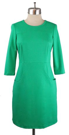 Playground to Party Dress in Good Luck Green PRESALE