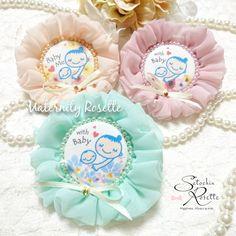 《再販》マタニティロゼット☺♥ ~Flower & color Pearl & bijou ver. ~
