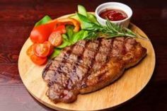 Pork steak - 13 recipes for delicious and juicy .- Pork steak – 13 recipes for a delicious and juicy steak Grilled Steak Recipes, Grilling Recipes, Diet Recipes, Chefs, Easy Healthy Breakfast, Healthy Eating, Juicy Steak, Tender Steak, Food Garnishes