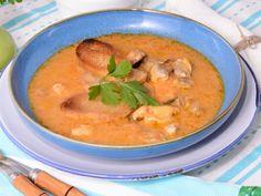 Receta   Sopa de pescado donostiarra - canalcocina.es