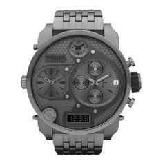 all watches | Home :: Diesel Watch :: Diesel SBA Chronograph Gunmetal Mens Watch ...