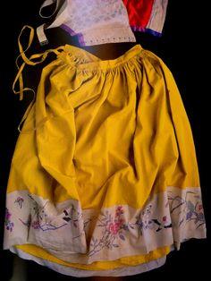 Colour & design inspiration from Frida Kahlo's wardrobe.