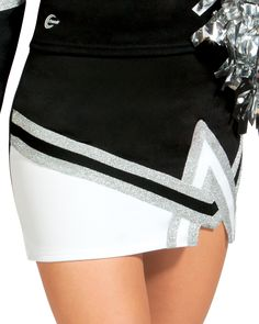 Give your team an edge with the Contender Uniform Skirt. Complete the look with matching cheerleading shell top and bodyliner. Cheerleader Skirt, Cheerleading Uniforms, Team Wear, Shell Tops, Diy Fashion, Cheer Skirts, Mini Skirts, Life, Decor