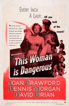 THIS WOMAN IS DANGEROUS (1952) - Joan Crawford - David Brian - Dennis Directed…