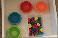 sort toddler-classroom  (Teaching our kids to be OCD from the start, lol. It's a cute lesson, but being OCD about colors/shapes I found the humor)