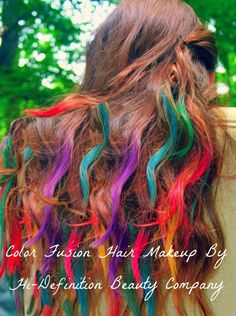Hair Chalking/Rub