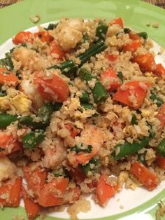 Whole 30 As A Pescatarian: Intro - My Mini Adventurer Easy Whole 30 Recipes, Recipe 30, Cauliflower Rice, Bite Size, Wok, Fried Rice, Green Beans, Low Carb, Adventurer