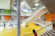 Schule von Behnisch in Niederbayern / Wieder wie damals - Architektur und Architekten - News / Meldungen / Nachrichten - BauNetz.de
