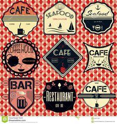 set-retro-vintage-badges-ribbons-labels-hipster-coffee-shop-restaurant-56917831.jpg (1300×1390)