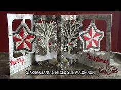 Karen Burniston Video Tutorial - Mixed Star/Rectangle Accordion  November 2015 Pop it Ups Designer Challenge: Video Techniques - I am not left-handed